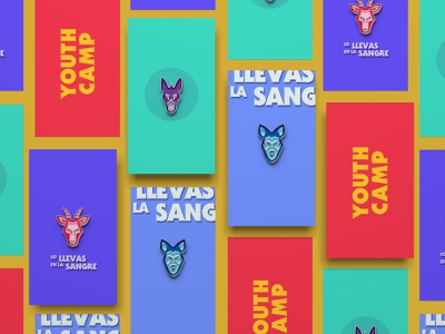 Enamel Pins - Lo llevas en la sangre vector illustration christianity christian design mexican youth wolf doodleart doodle typography type