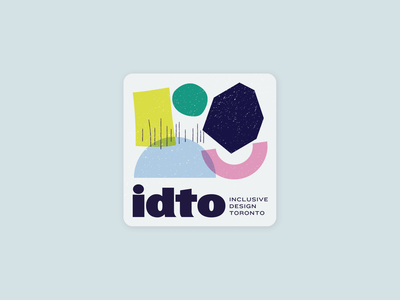 Sticker for IDTO Conference