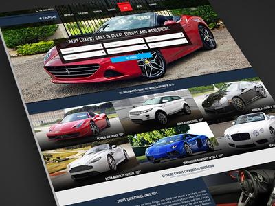 Empire Luxury Website Design