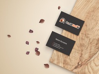 Business card Social Weber Design
