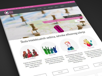 Mikele Website Intelektualne Vestine Design