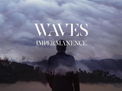 Waves - Impermanence cover art instrumental photomontage album cover music art cover art