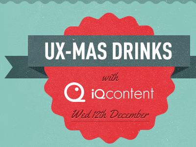 Uxmas drinks