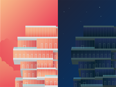 56 Leonard skyscraper day and night tribeca 56 leonard nyc