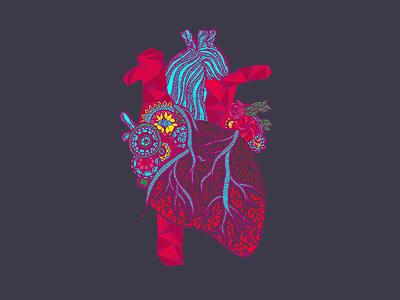 Heart Doodle digital doodle heart