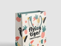 Flying Tiger Paperbag
