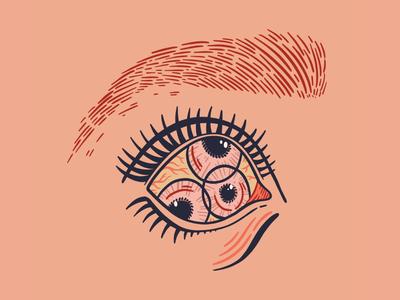 Eye, Inktober Day 14