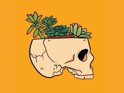 Succulent, Inktober Day 13