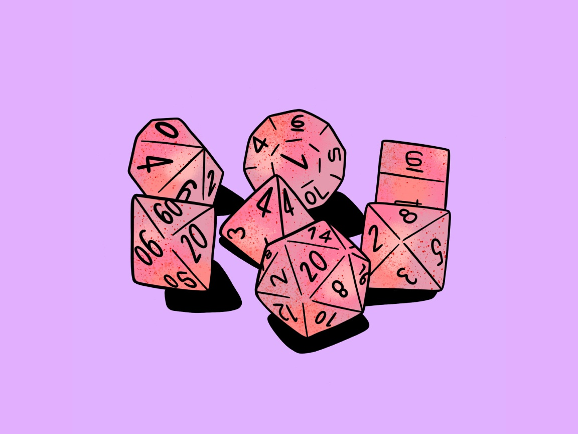 Dice Inktober Day 11 By Sophie Mctear On Dribbble