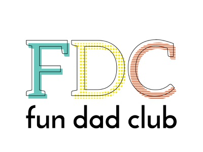 Fun Dad Club Logo illustrator branding logo