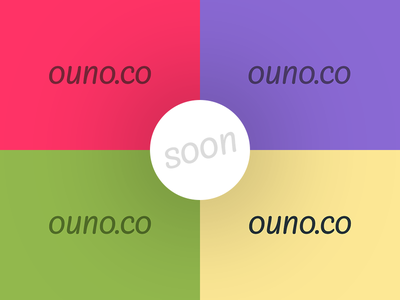 ouno.co flat website ui team ux design clean agency logo startup