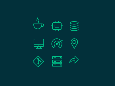 infrastructure icons vector sketch line guide ux ui infrastructure icon