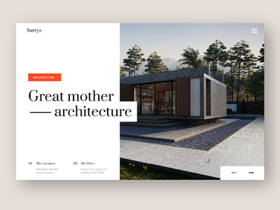 Architecture bekkers clean home landing minimal architecture