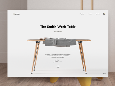 The Smith Work Table clean bekkers scandinavian landing desk article blog minimal