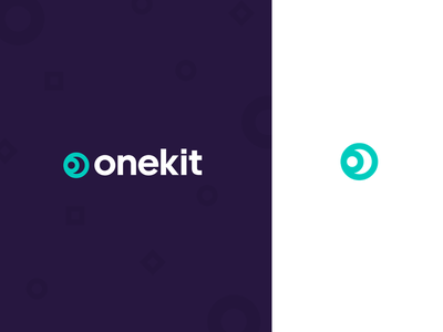 Onekit.co - Ultimate Tool Kit purple mark icon type kit tools minimal bekkers ui logo