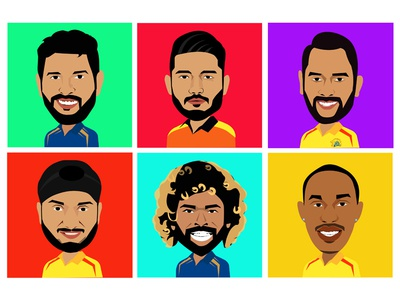 IPL campaign illustrations