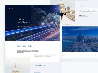 Business Website Animation