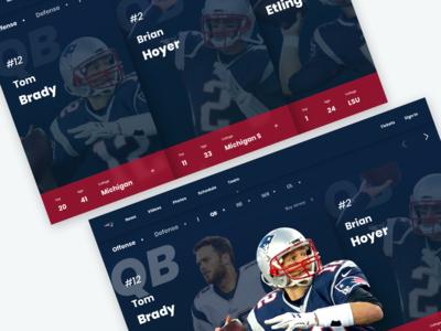NFL Roster Website
