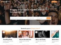 Eventackle Website Design