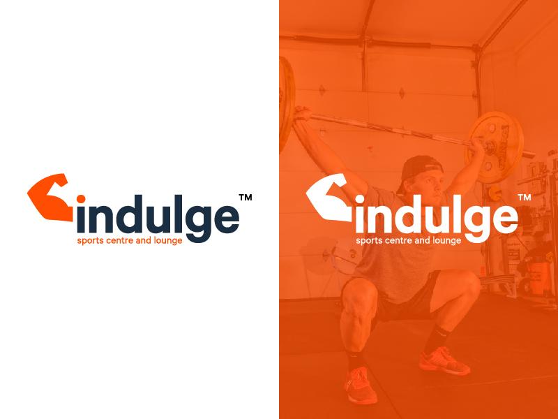 Indulge Brand Identity branding logo logo design guidelines gym creative identity icon mark