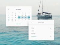 Leave day Calendar