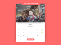 041 Workout Tracker
