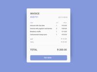 Invoice Card