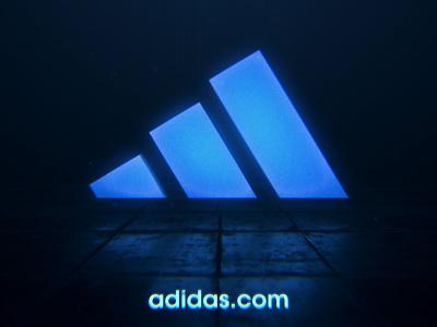 Dribbble 3d animation motion graphics logo adidas
