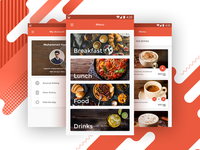 Coffee Central UI App Design