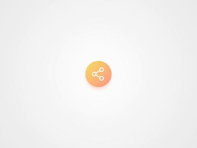 Social Sharing design app challenge interface after effects animation ui ui design sharing social media