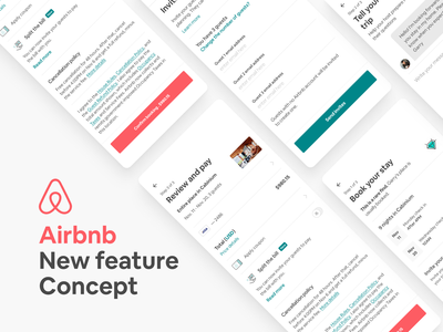 Airbnb - New feature Concept ui design design concept userinterface figma feature mobile ux ui travel app travel airbnb