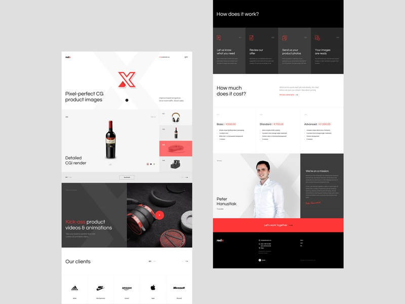 RedXStudio - Website Project