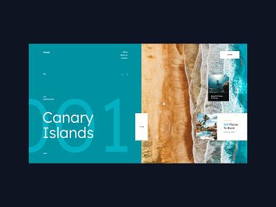 #103 Shots for Practice webdesign designer web trip sea holidays travel typography minimalism homepage website design ux ui