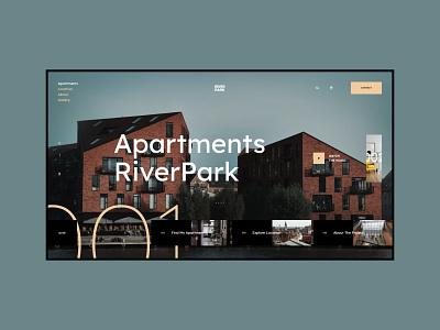 #104 Shots for Practice photography designer web building apartment house typography webdesign branding flat minimalism homepage website design ux ui