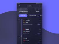 Escore - Esport Score Mobile App #1