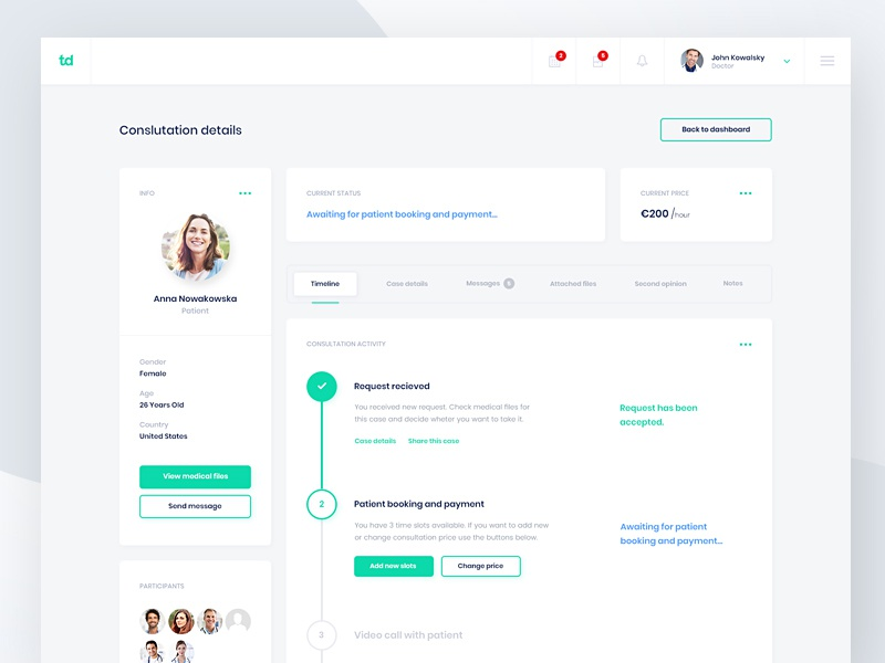 Trustedoctor - Consultation Details #1