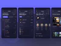 Escore - Esport Score Mobile App #4