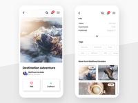 #2 - Unsplash Mobile App Concept