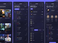 Escore - Esport Score Mobile App #5