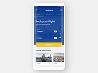 #1 - RyanAir - Mobile App Redesign Concept