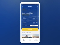 #2 - RyanAir - Mobile App Redesign Concept