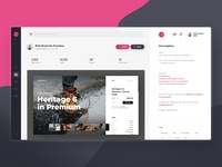 Dribbble Redesign Concept - #4