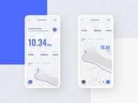#5 RunApp -  Mobile App Concept