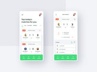 #9  ScoreLive -  Mobile App Concept