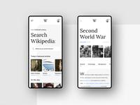 #11 Wikipedia -  Mobile App Concept