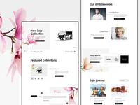#2 - Zojo - Website Design