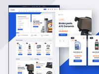 #2 Carparts - eCommerce design project