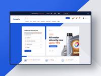 #4 Carparts - eCommerce design project
