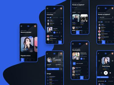 MyMusic - Mobile App Case Study
