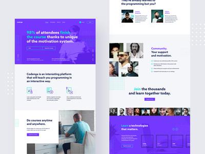 #2 - Codenga. E-learning platform.
